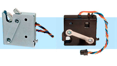 Electronic Rotary Latches R4-EM